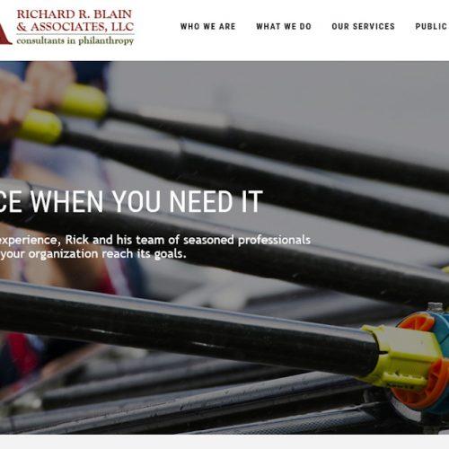Richard R. Blain & Associates, LLC website